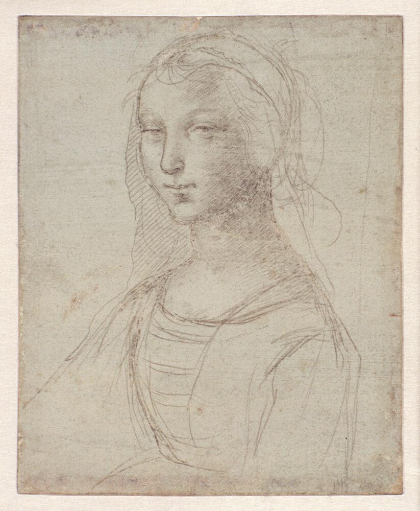 Raffaello Sanzio, Ritratto di giovane donna in busto