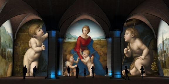 Raffaello e Firenze (rendering)