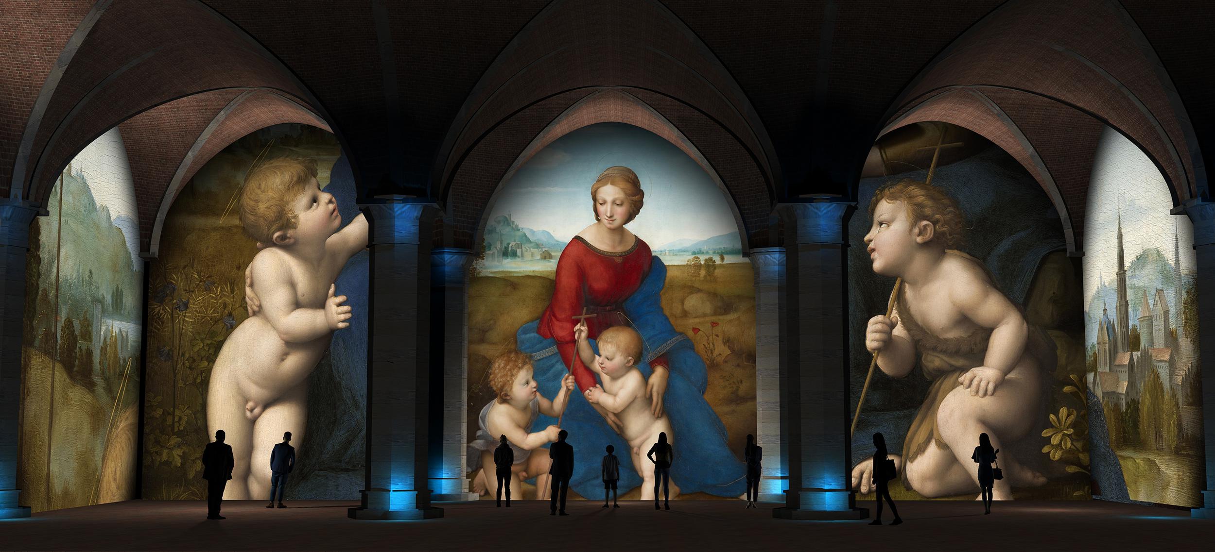 Quel che Firenze diede a Raffaello: il racconto della mostra a Palazzo Vecchio