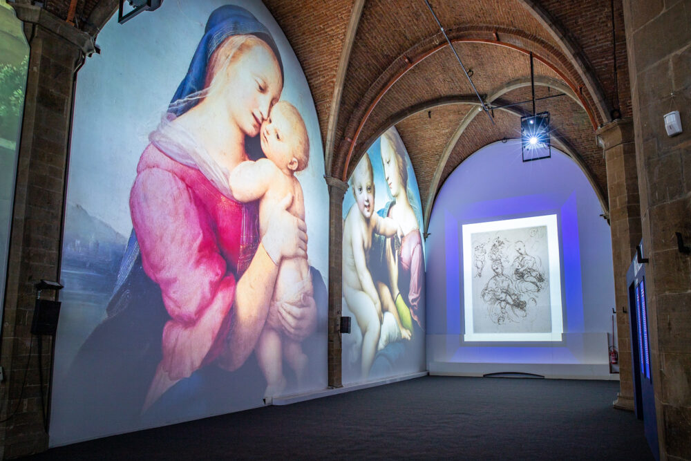 Raffaello e Firenze, Muse © Mattia Marasco
