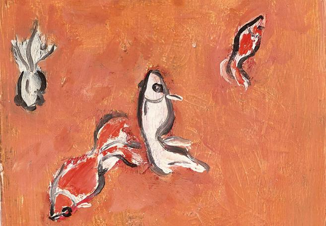 Goldfish, i pesci rossi di Sanyu stimano fino a 23 milioni da Christie's a Hong Kong