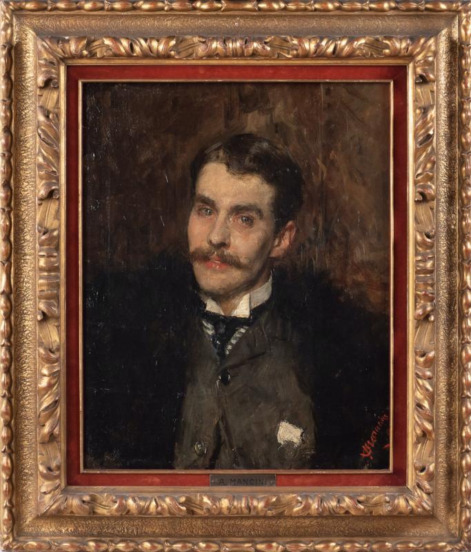 Antonio Mancini, Ritratto di James Rennel Rodd. Aggiudicato a 35.000 euro
