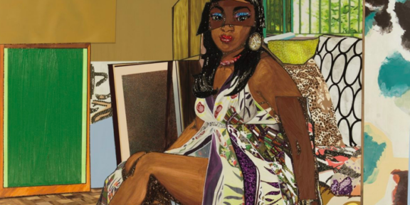 Royall Collection Phillips New York 2020 Mickalene Thomas, I've Been Good to Me (2013). Courtesy Phillips