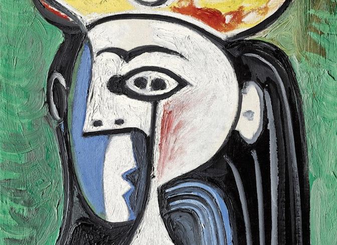 Picasso in asta da Sotheby's. Il ritratto di Jacqueline Roque stima 8/12 milioni