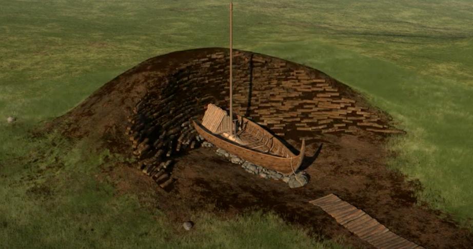 Scoperti i resti di una nave vichinga lunga 19 metri in Norvegia