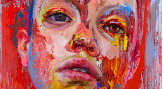 Jenny Saville Gagosian New York 2020 Rupture, 2020