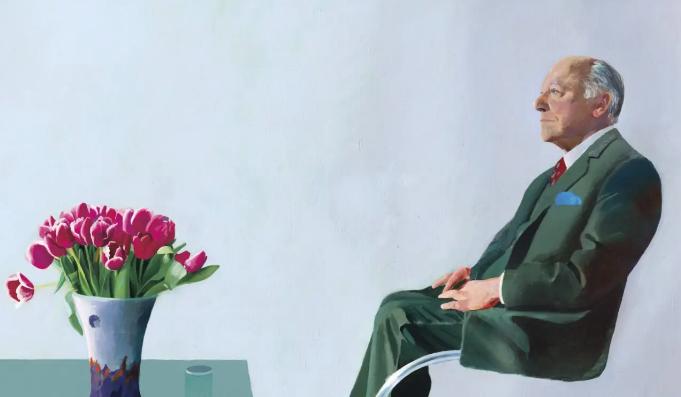 Hockney torna a casa. Il ritratto di Sir David Webster andrà di nuovo alla Royal Opera House