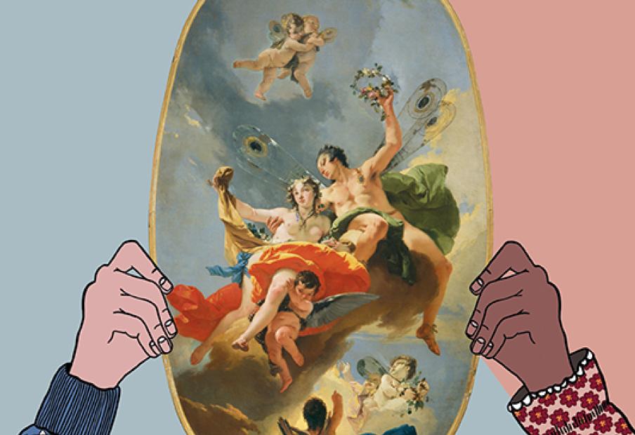 Tiepolo in un activity book, per conoscere l'arte del maestro del Settecento