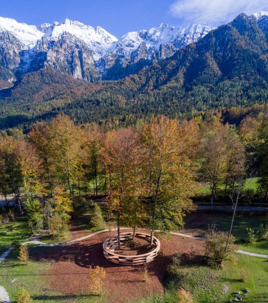 Stefano Boeri - Tree-Room - Arte Sella 2020 - Ph Giacomo Bianchi