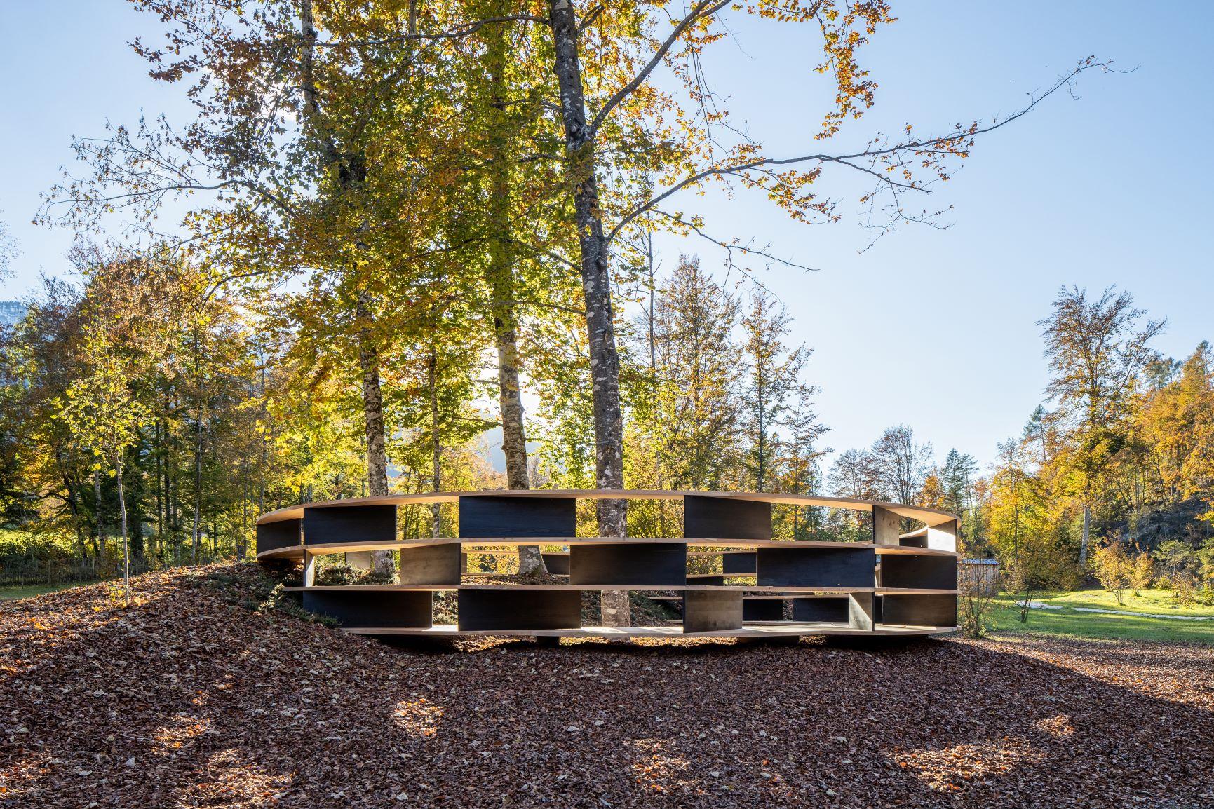 Racchiudere il mondo in una stanza. La nuova Tree-Room di Stefano Boeri Interiors conquista Artesella