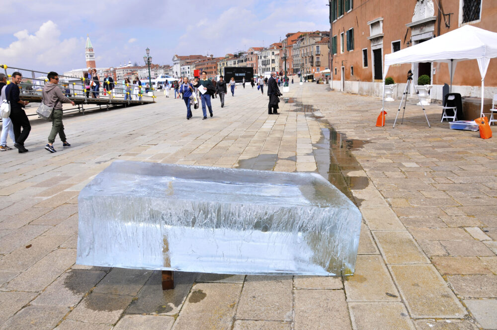 Stefano Cagol, The Ice Monolith, BIENNALE 2013