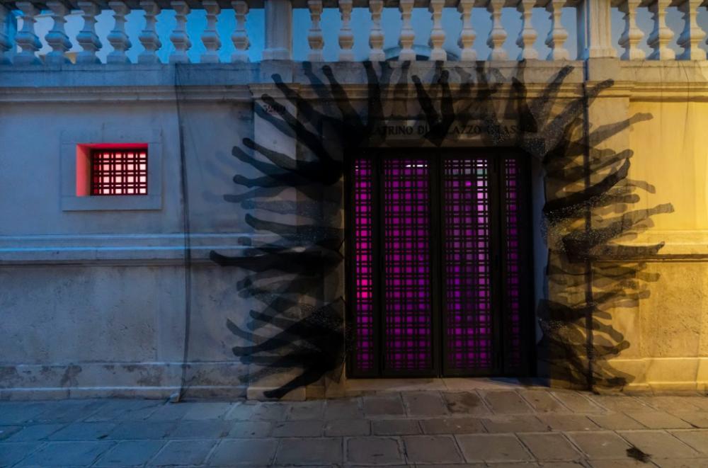 View of Cinemapocalissi 2020, curated by Il Colorificio at Teatrino di Palazzo Grassi, Venice