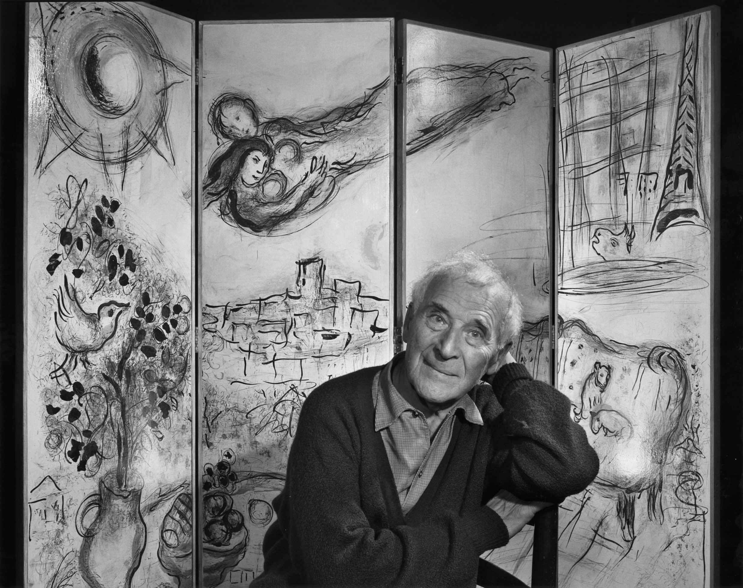 Le sinfonie visive di Marc Chagall
