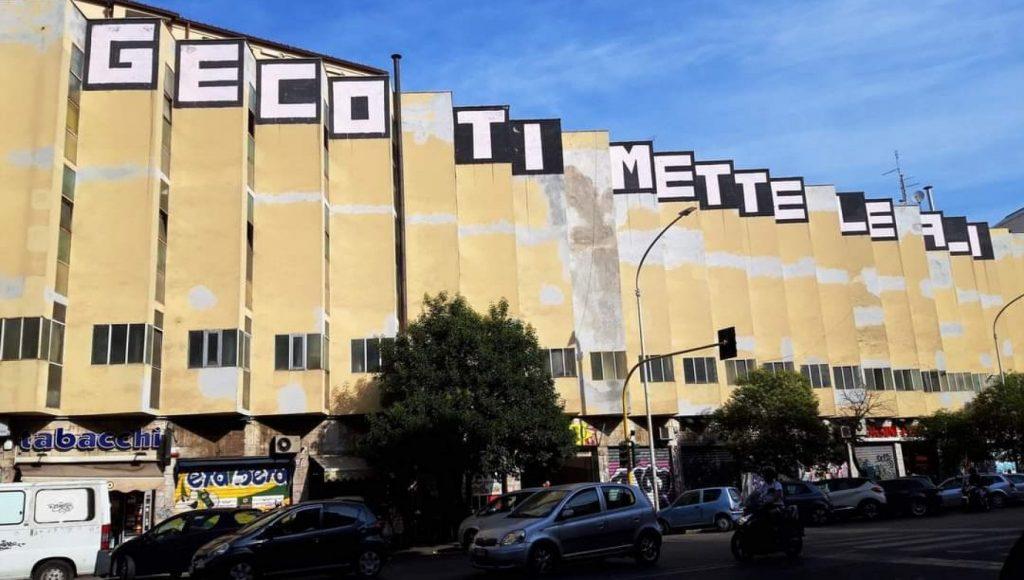 Svelata l'identità dello street artist Geco. E chissenefrega