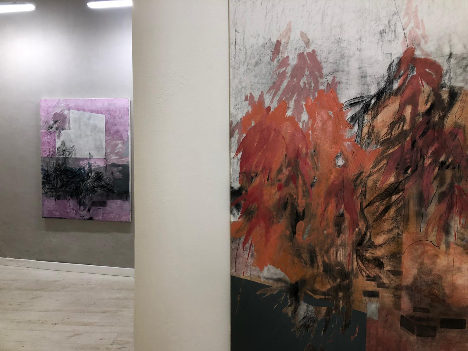 Segno e rarefazione cromatica. Gli orizzonti pittorici di Greta Pllana a Roma