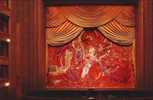 Il sipario di Marc Chagall per il flauto magico di Mozart in asta a New York