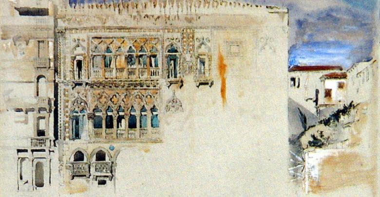 John Ruskin, Casa d'oro, Venezia, 1845