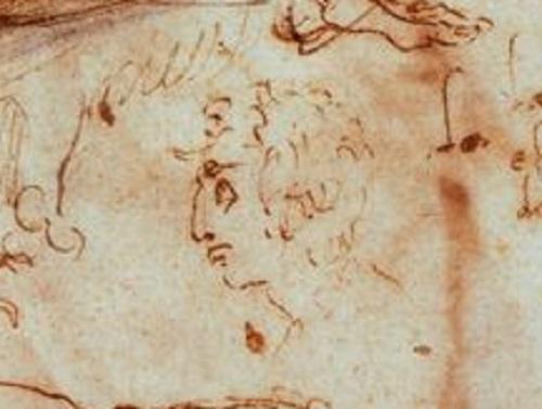 misterioso ritratto di Michelangelo