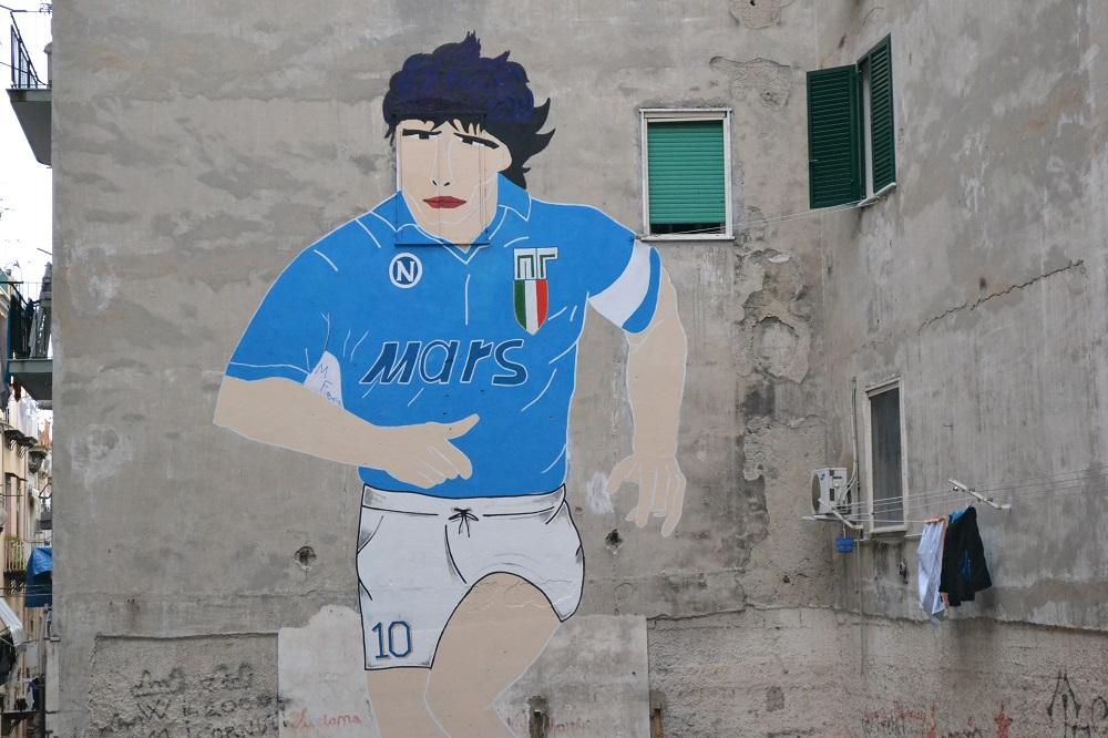 murale maradona