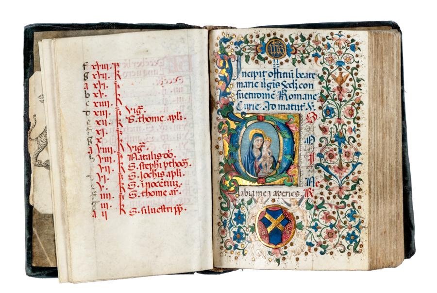 Un libro d'ore del XV secolo guida l'asta (online) di Gonnelli di dicembre