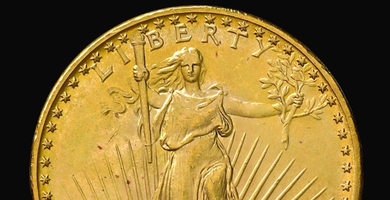 La doppia aquila di Saint Gaudens. La moneta da 20 dollari all'asta