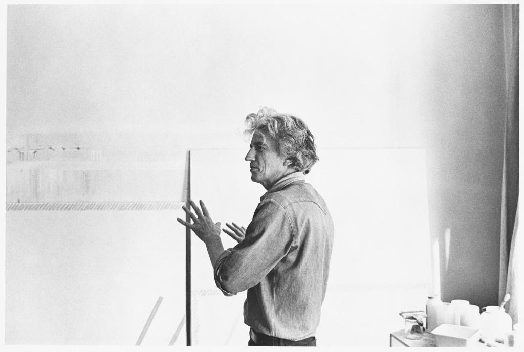 Martin Barré, pittore radicale. La visita virtuale della mostra al Centre Pompidou