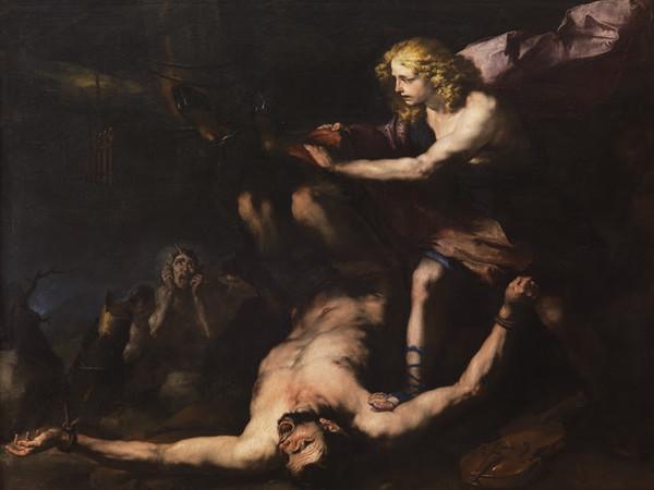 Luca Giordano (1634-1705) Apollo e Marsia 1660 Olio su tela 205 x 259 cm Napoli, Museo e Real Bosco di Capodimonte