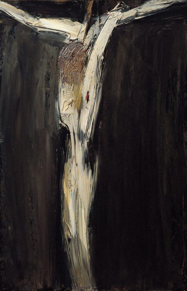 William Congdon, Crocefisso, 1960. Milano, William G. Congdon Foundation