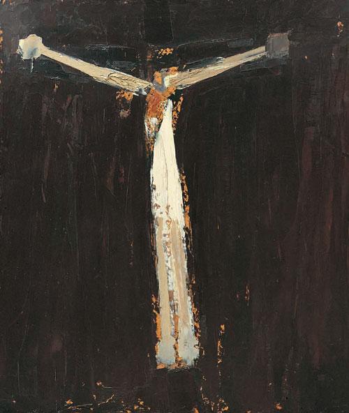 William Congdon – Crocefisso 18, 1966
