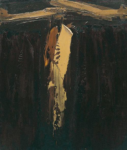 William Congdon – Crocefisso 34, 1966