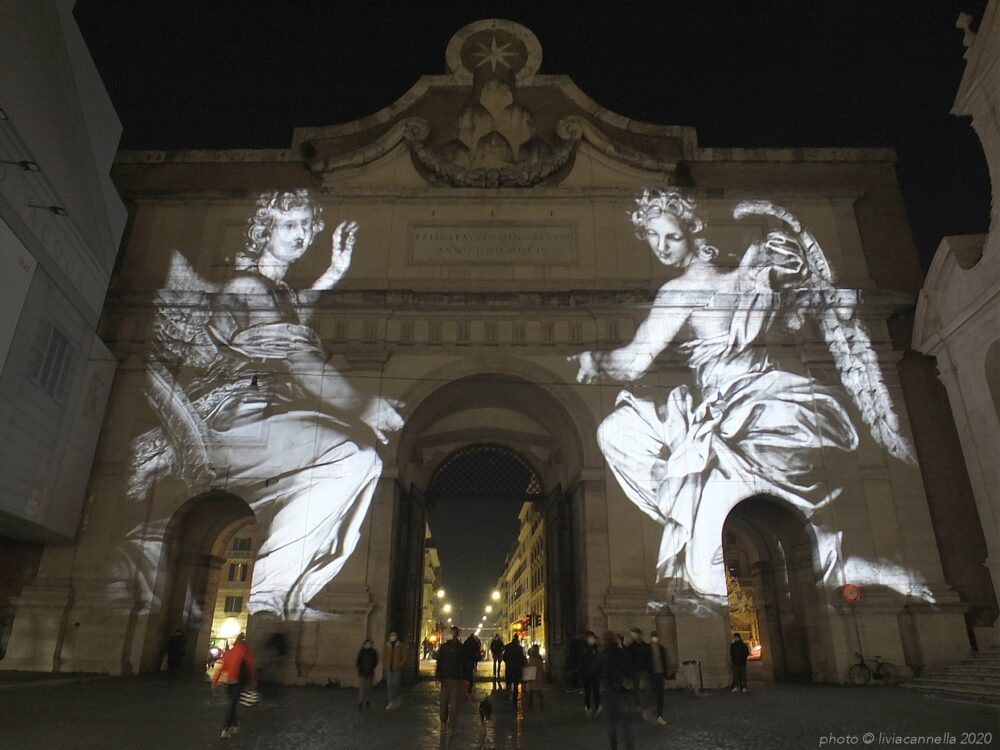 luci di Natale a Roma