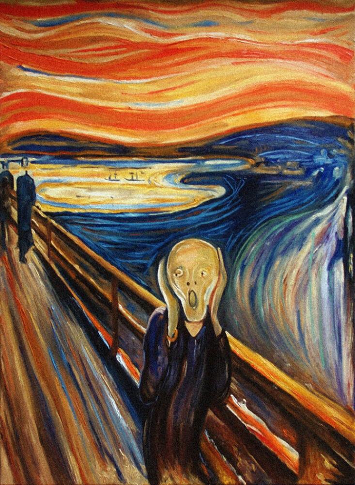 Edvard Munch, Urlo