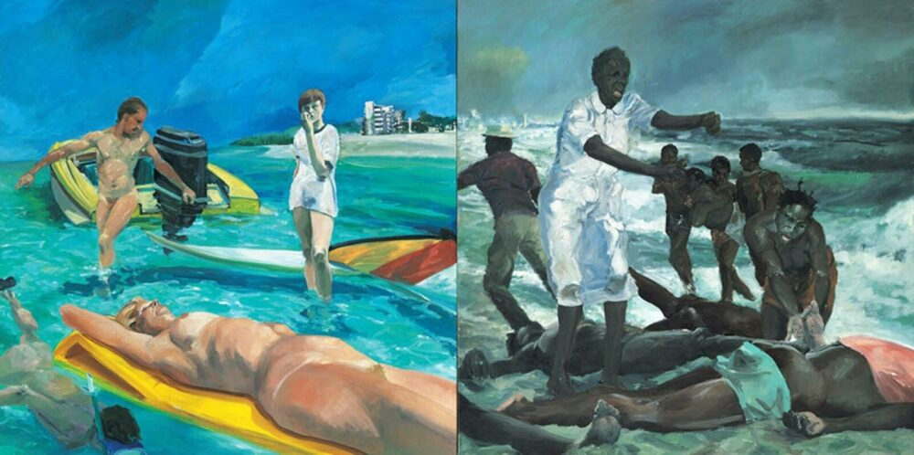 Erich Fischl A Visit To / A Visit From / The Island, 1983
