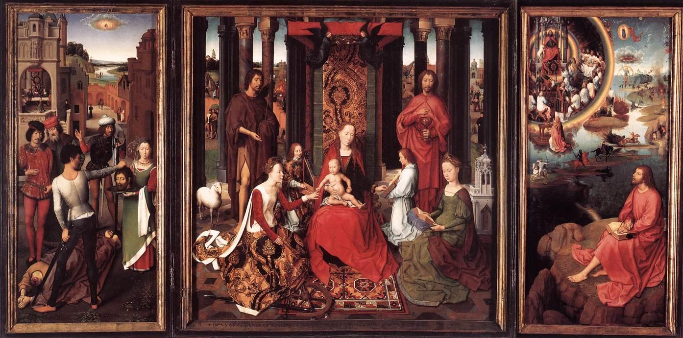 Un capolavoro di Hans Memling torna a casa. Donata alla città di Bruges una rara pala d'altare