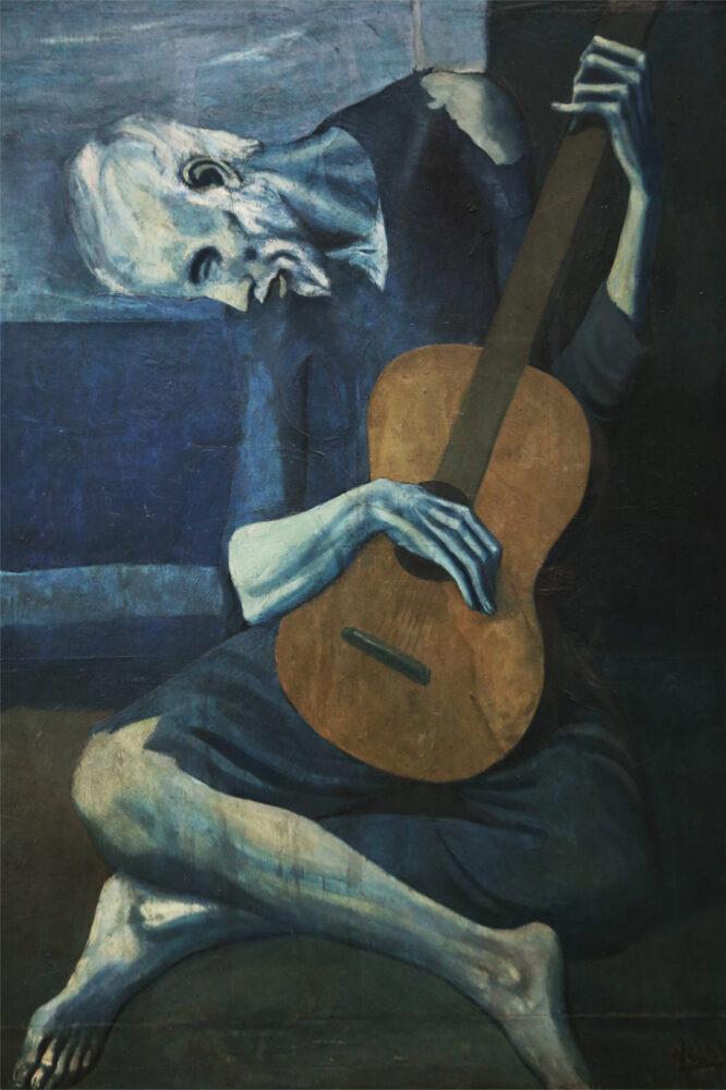 Pablo Picasso, Il vecchio chitarrista cieco