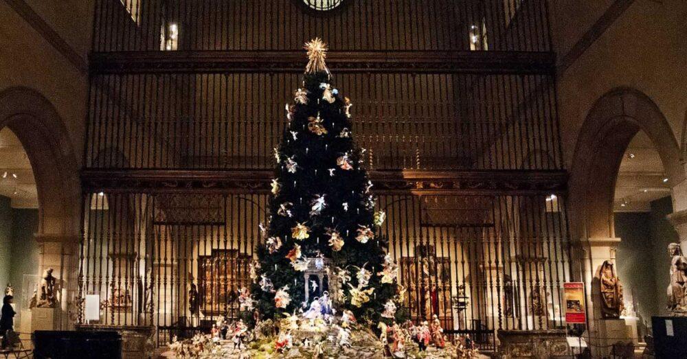 L'Albero di Natale napoletano del Metropolitan Museum