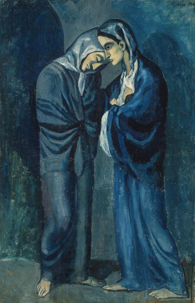 Pablo Picasso, Le due sorelle