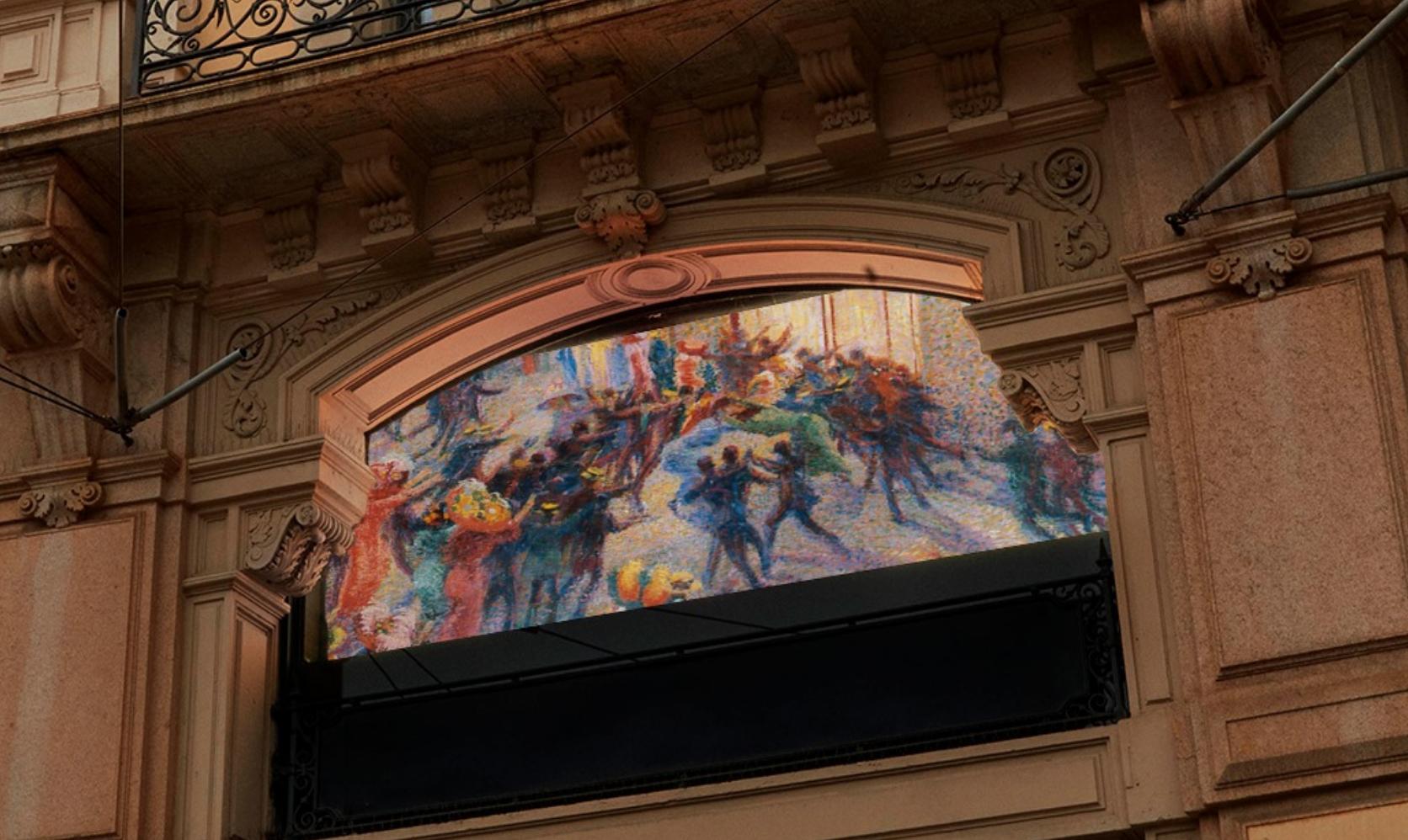 Arte con gli occhiali. Luxottica for art porta tanti capolavori nei luoghi chiave di Milano