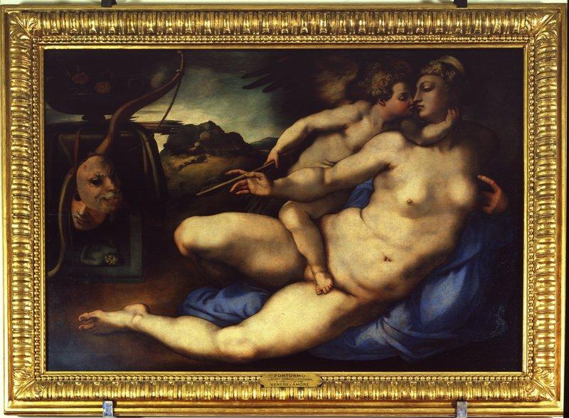 Pontormo, Venere e Cupido, Galleria dell'Accademia_Firenze_ArtsLife
