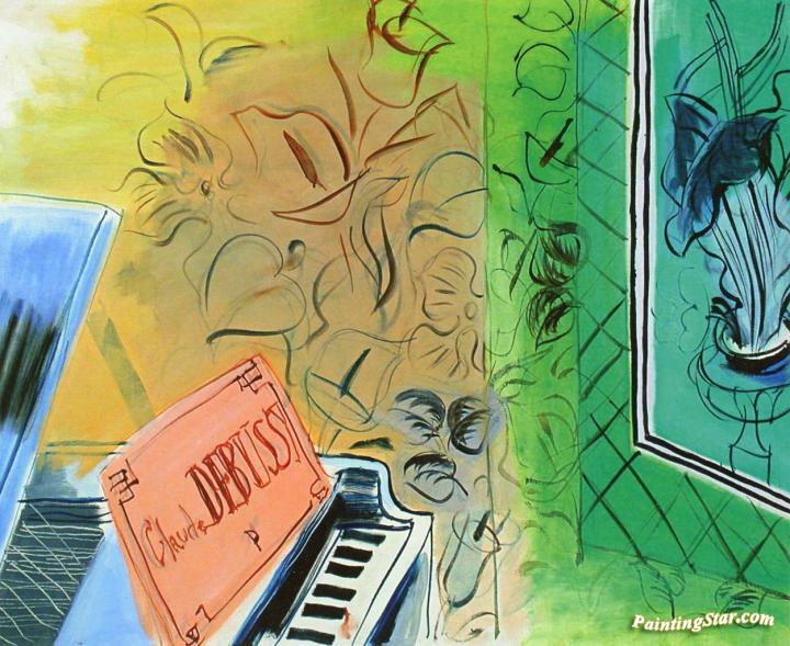 Raoul Dufy, Omaggio a Debussy