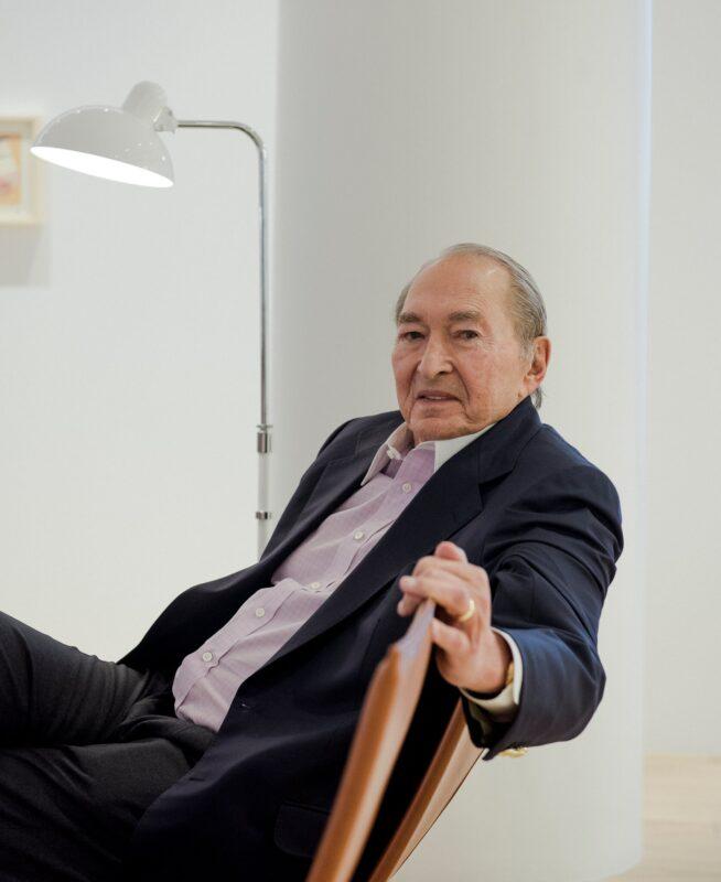 L'imprenditore edile Sheldon Solow nel 2018.