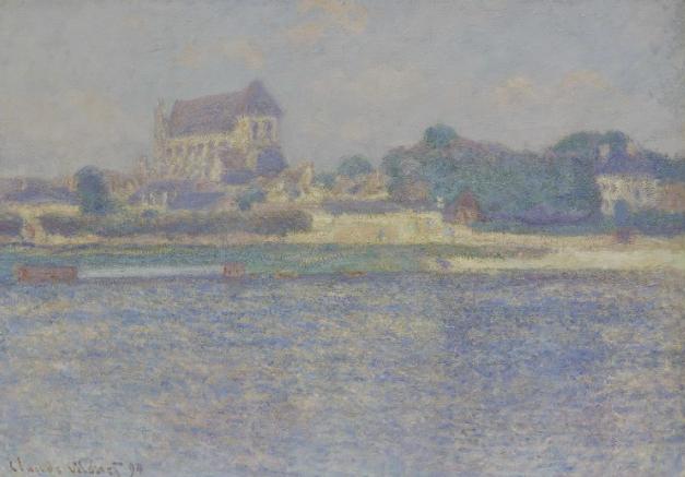 Sotheby's Impressionist Modern Contemporary 8 dicembre Claude Monet, Vernon, soleil