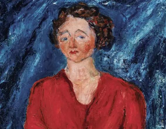 La Signora in rosso di Chaim Soutine guida la Top Ten 2020 di Dorotheum