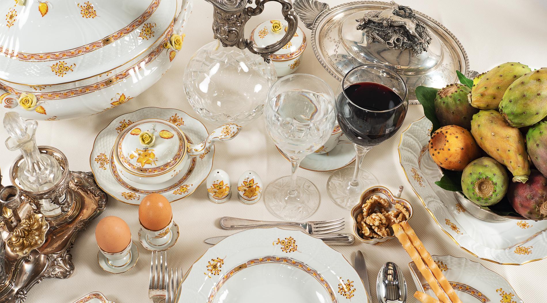 Appuntamento natalizio. La vendita di argenti e l'arte della tavola va in scena da Colasanti