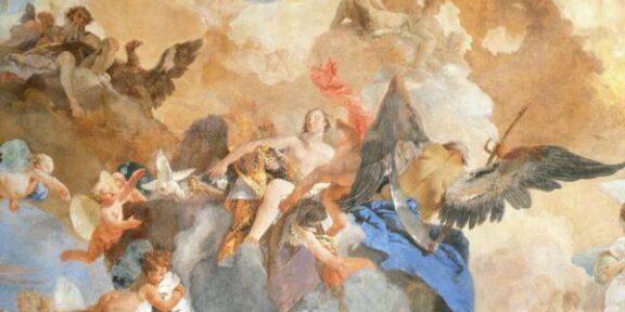 Tiepolo, La corsa del carro del Sole, Palazzo Clerici, Milano