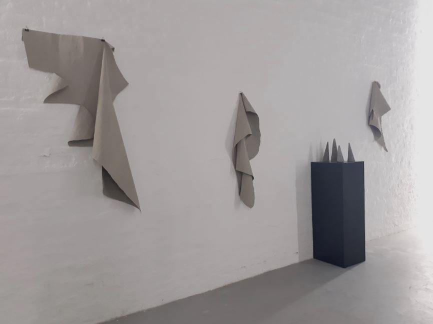 Together We Stand, installation view, Alessandro Biggio, 2020 courtesy Galleria Michela Rizzo