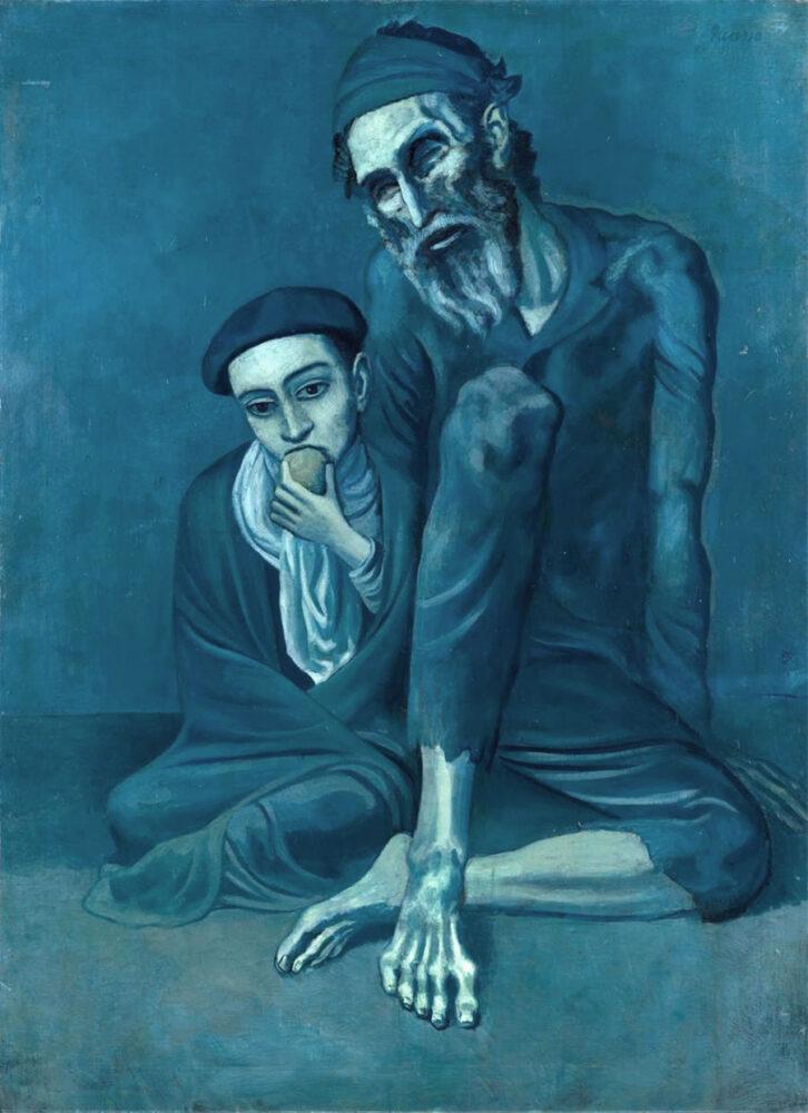 Pablo Picasso, Il vecchio cieco