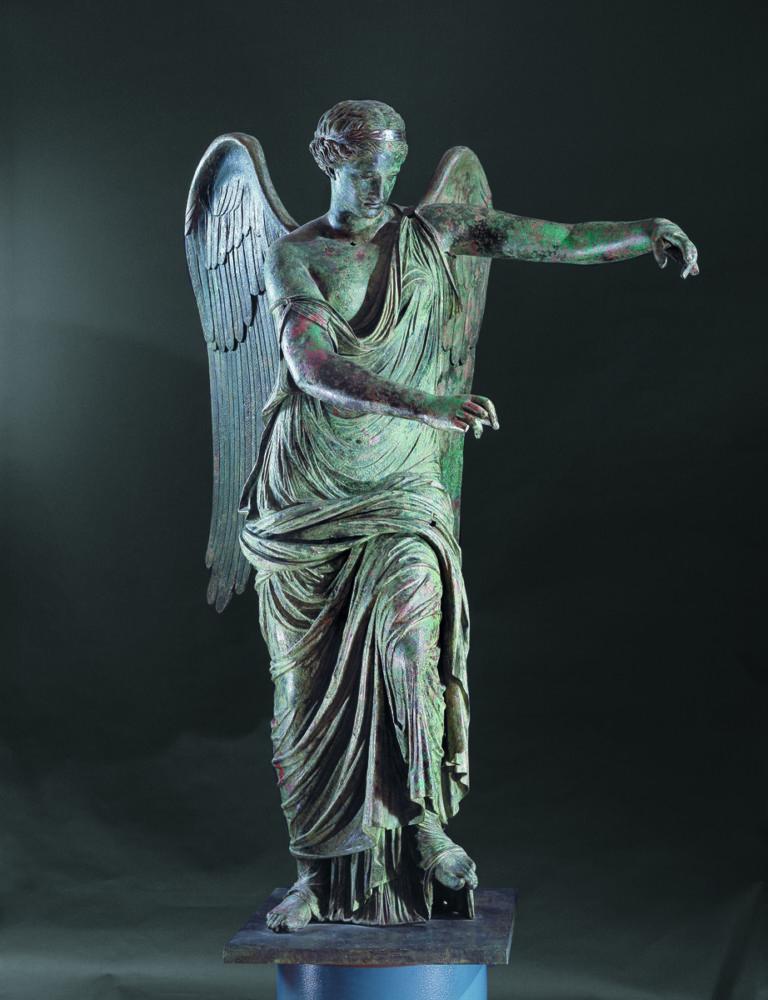 Vittoria Alata, foto di Brescia Musei