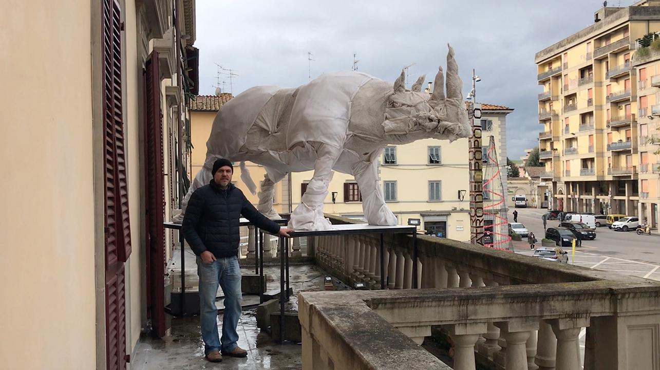 Le sculture animali di Antonio Massarutto popolano Castelfiorentino