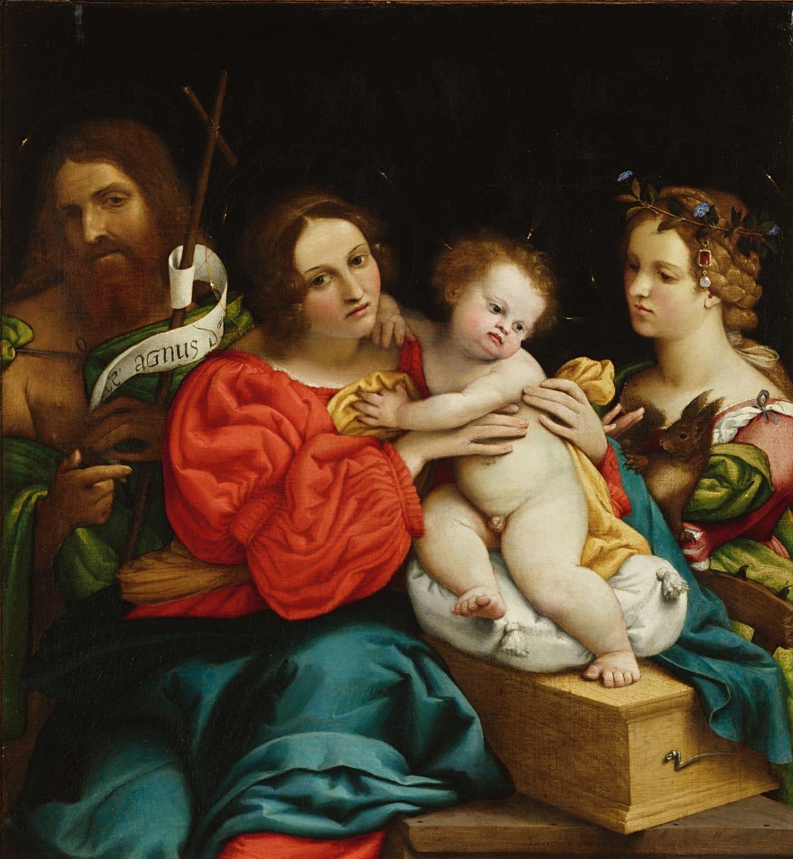 Dialoghi. L'inquietudine della realtà, lo sguardo di Giovanni Frangi su Lorenzo Lotto